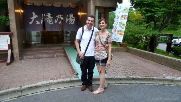 Onsen Otakinoyu en Kusatsu Onsen, el pueblo balneario más famoso e importante de Japón
