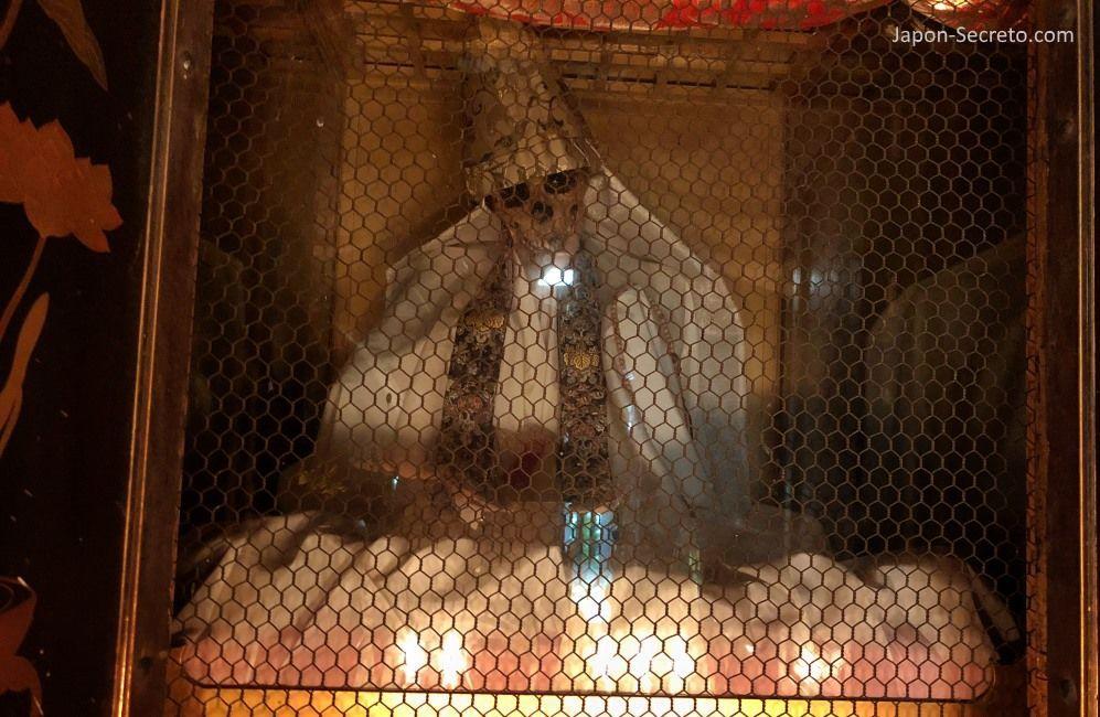Buda viviente o Sokushinbutsu (Tsuruoka, Yamagata). Momias en Japón