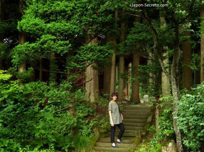 Sokushinbutsu, momias en Japón: llegando al templo Honmyoji (Tsuruoka, Yamagata). Tohoku.
