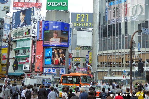 Viajar a Tokio: barrio de Shibuya
