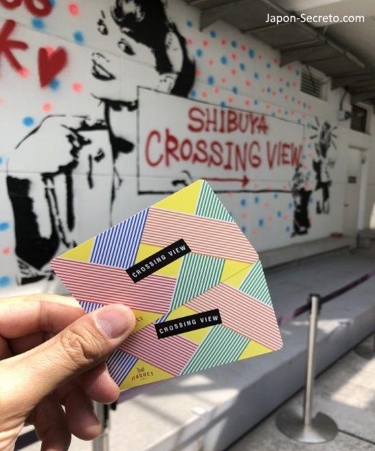 Entradas para el observatorio Mag's Park. Vistas del cruce de Shibuya. Tokio, que ver y hacer. Guia de viaje