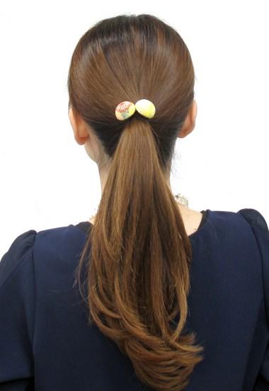 Elastique à cheveux Bouton