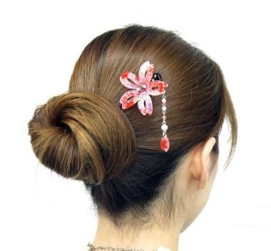 Pic Kanzashi Sakura (Fleur de cerisier)