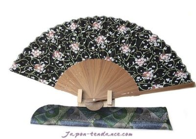 Éventail Sakura (Fleur de cerisier)