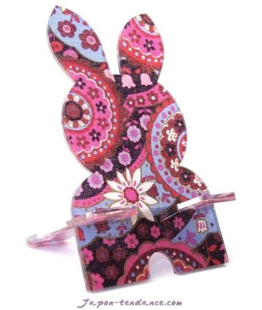 Support pour smartphone Lapin