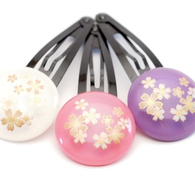 Pince à cheveux clic clac Wadama Sakura