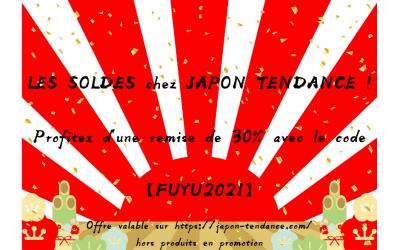 Les soldes chez Japon Tendance !