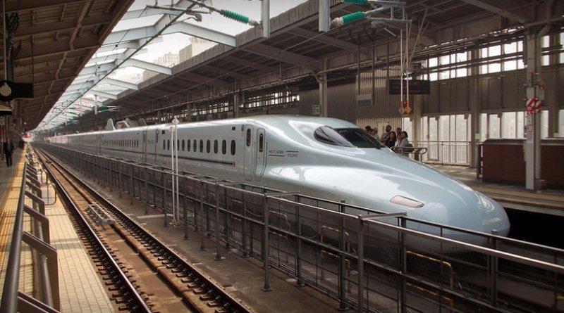 shinkansen tren transporte japon