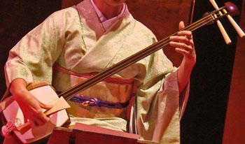shamisen instrument de musique des geisha