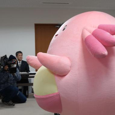 Chansey se convierte en embajador oficial de la prefectura de Fukushima