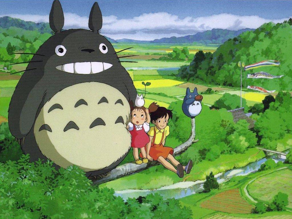 Mon voisin Totoro - la maison du film à Nagutake