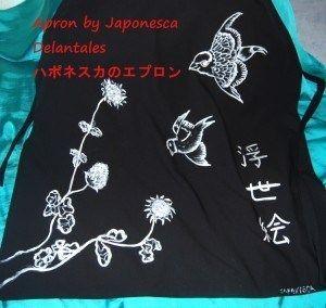 El humilde delantal Artesana Japonesca  Japonesca