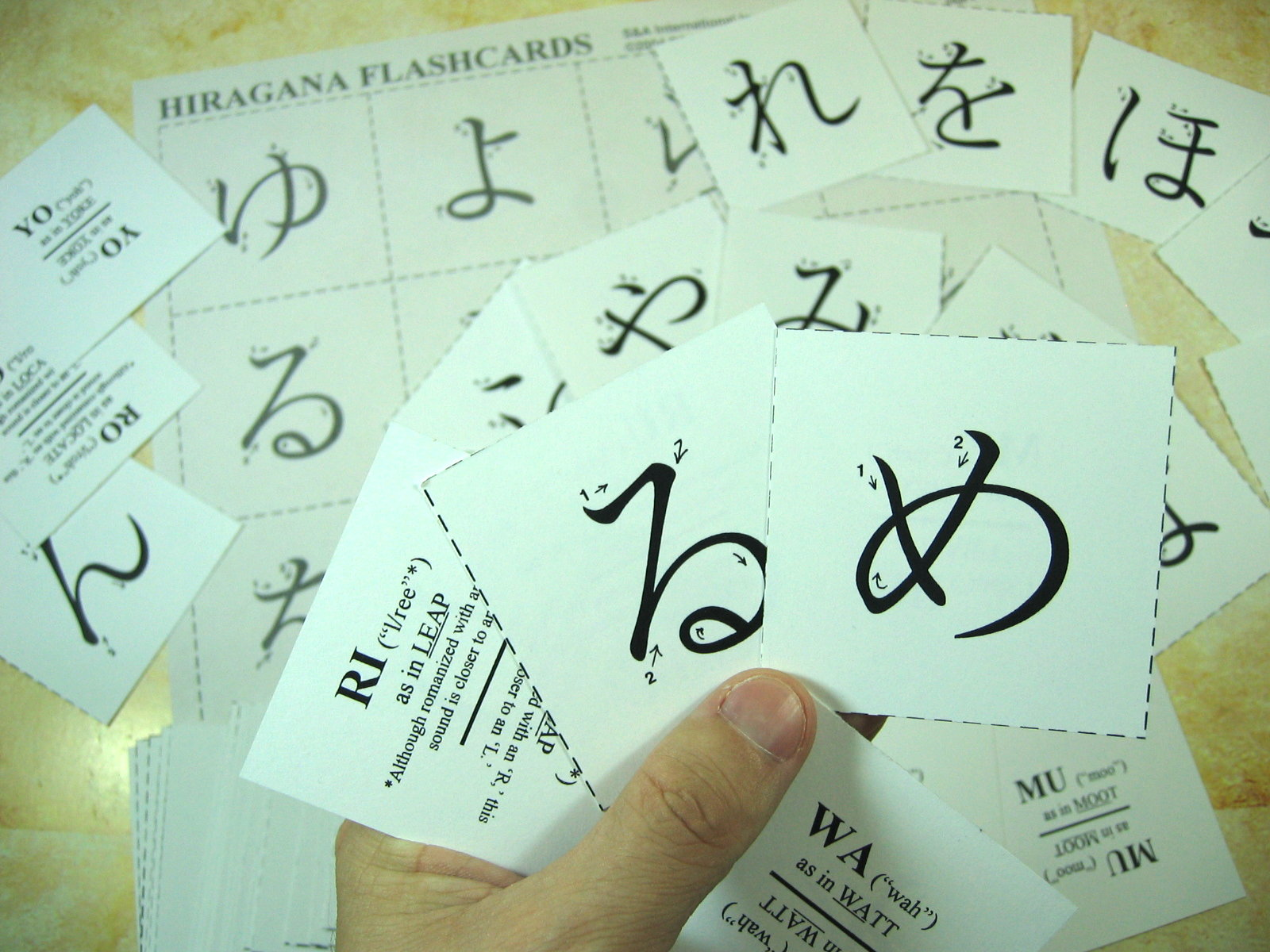 Hiragana And Katakana Writing Practice Sheets