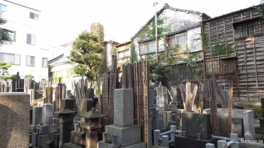 Buddyjski cmentarz w tokijskiej dzielnicy Yanaka