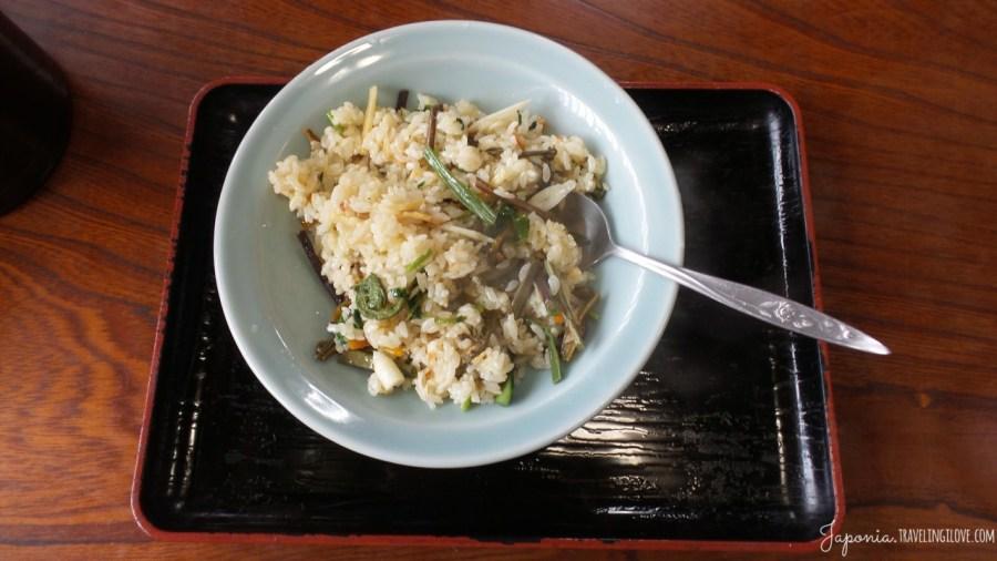Shirakawa-go jedzenie