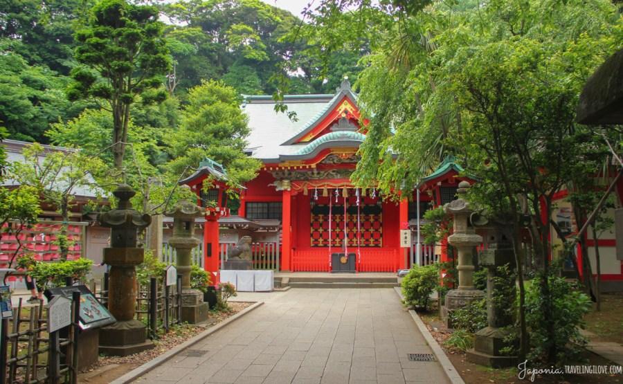 Świątynia na wyspie Enoshima, w prefekturze Kanagawa