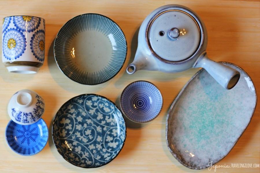 Japońska ceramika - kolor niebieski