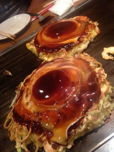 Okonomiyaki estilo Osaka