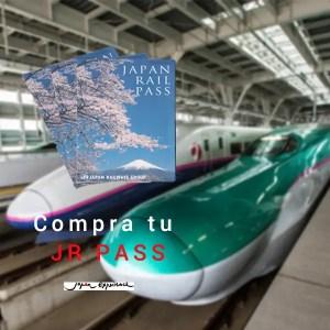 Compra el JR Pass en la tienda de Japonismo
