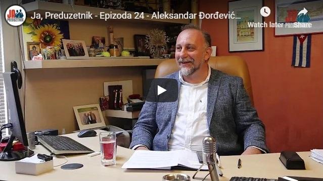 Ja, Preduzetnik – Epizoda 24 – Aleksandar Đorđević, Pinoles