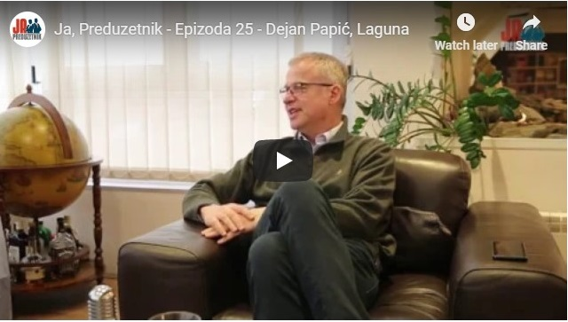 Ja, Preduzetnik – Epizoda 25 – Dejan Papić, Laguna