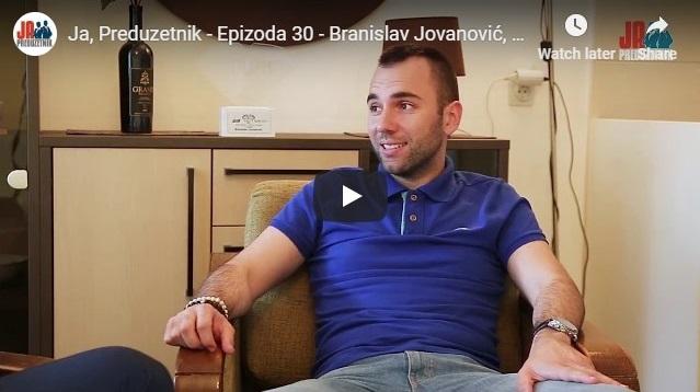 Ja, Preduzetnik – Epizoda 30 – Branislav Jovanović, But&co