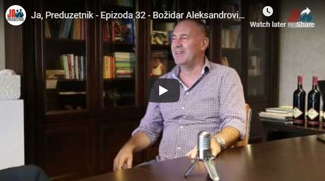 Ja, Preduzetnik – Epizoda 32 – Božidar Aleksandrović, Vinarija Aleksandrović