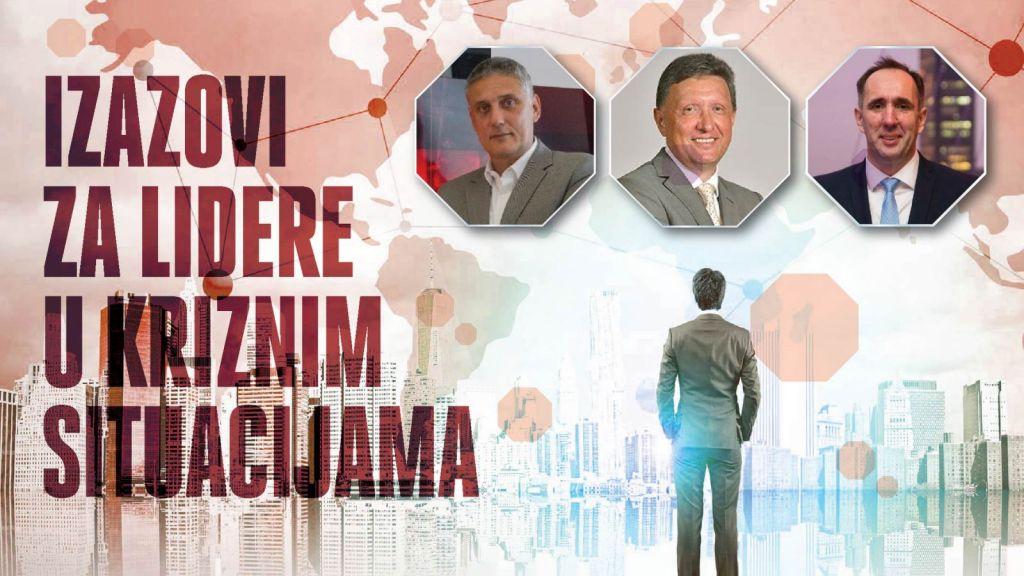 """Treća konferencija """"Izazovi za lidere u kriznim situacijama"""" – Darko Budeč i Goran Kovačević"""