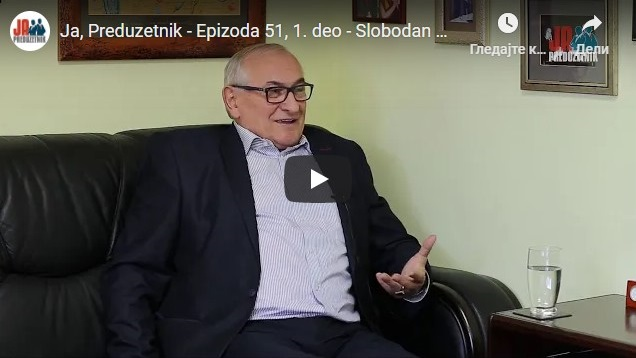 Ja, Preduzetnik – Epizoda 51, 1. deo – Slobodan Spasović, Cini