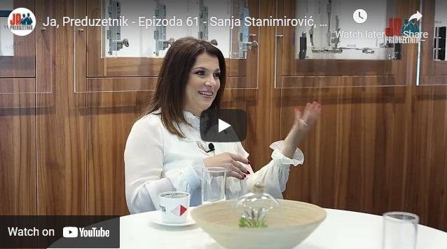 Ja, Preduzetnik – Epizoda 61 – Sanja Stanimirović, Testeral 1. deo