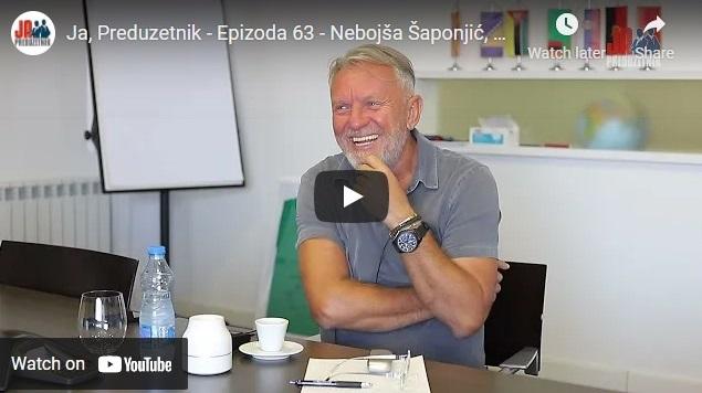 Ja, Preduzetnik – Epizoda 63 – Nebojša Šaponjić, Nelt, 1. deo