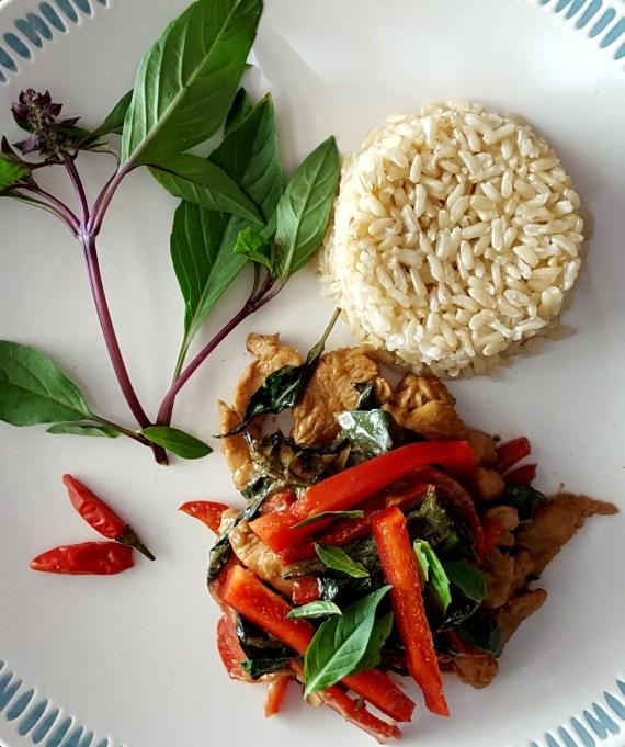 Thai Basil Chicken