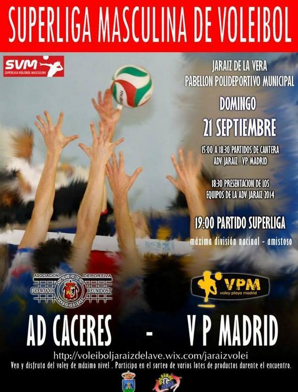 Presentación Voleibol Jaraíz