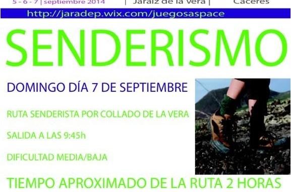 Senderismo - II Olimpiadas Solidarias Pro-Aspace