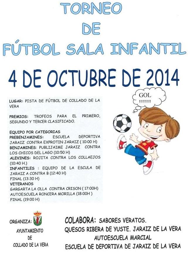 Torneo de Fútbol-Sala - Collado de la Vera