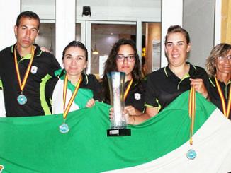 Las Pescadoras Extremeñas Campeonas De España De Pesca - 2014