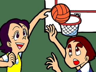 Baloncesto dibujos