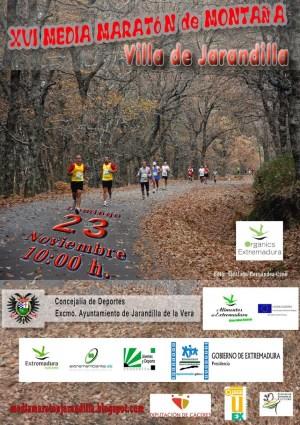 XVI Media maratón de Jarandilla de la Vera