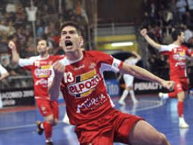 Kike Boned con El Pozo de Murcia F.S.