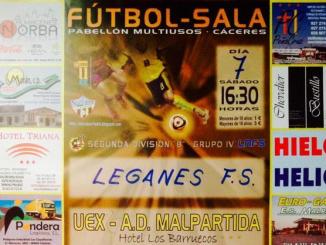 Uex A.D Malpartida vs Leganes