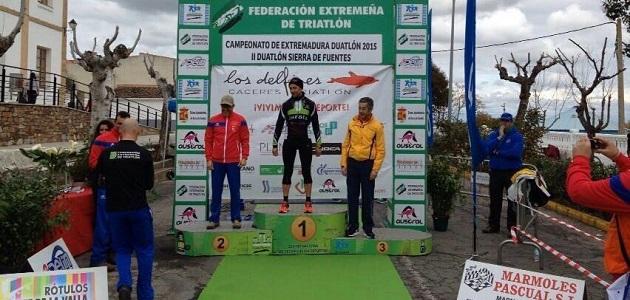 Jesús Carlos Paz Sanz Campeón de Extremadura de Duatlón, Veterano 50