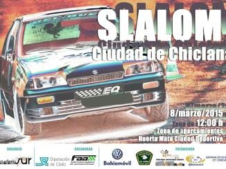 Los dombenitenses Ruiz Caballero y Barriga Valencia en el Slalom Ciudad de Chiclana