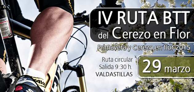 IV Ruta BTT del Cerezo en Flor