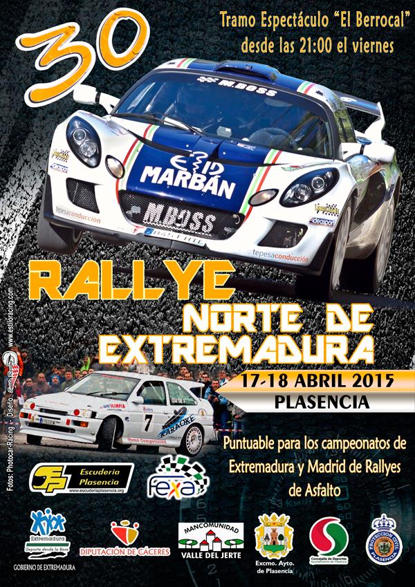 XXX Rallye Norte de Extremadura