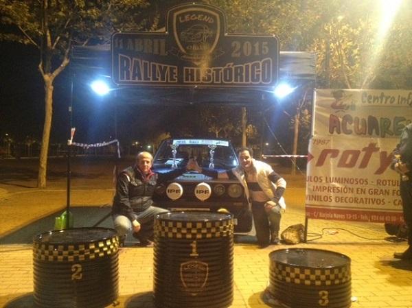 Foto campeones - III Rallye Critérium de Regularidad Histórica