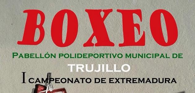 I Campeonato de Extremadura de Boxeo