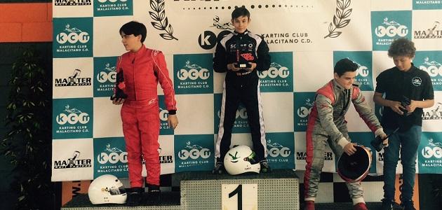 Miguel Grande debuta con victoria en la Maxter Series Ibérica Kartódromo de Kartaya