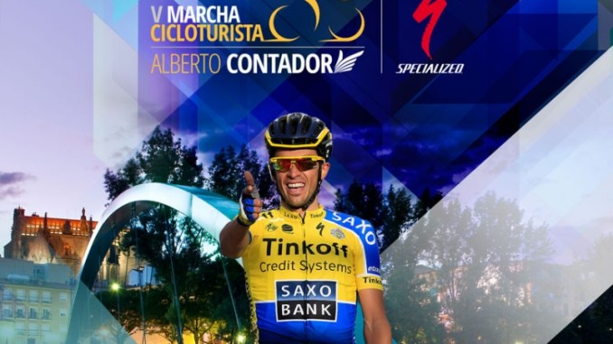 V marcha cicloturista Alberto Contador Plasencia