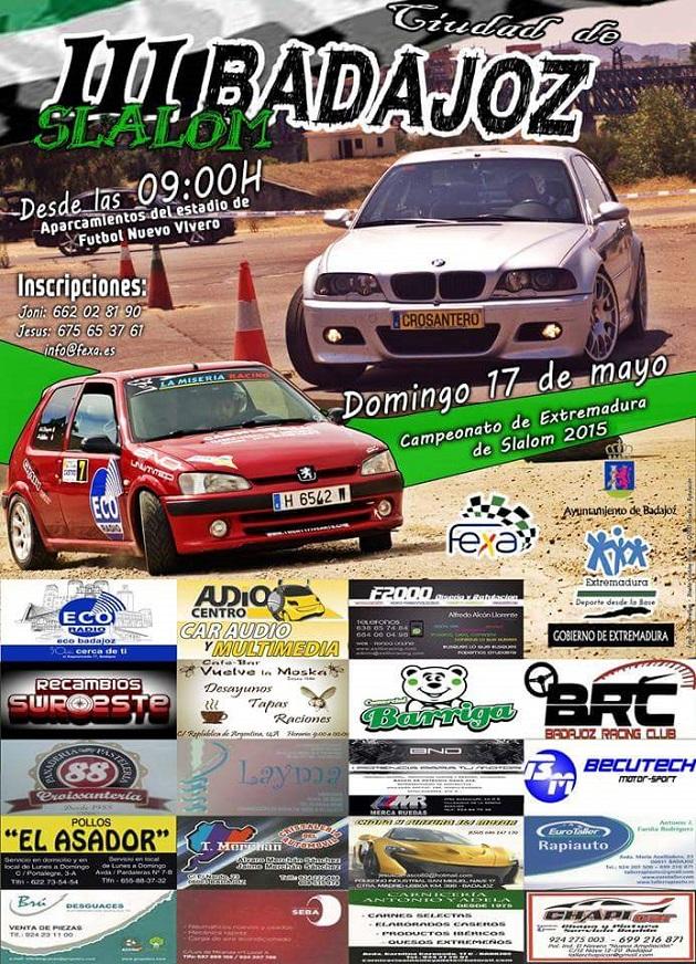 Previa III Slalom Ciudad de Badajoz