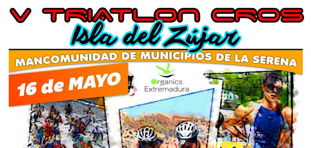 V Triatlon Cross Isla del Zújar